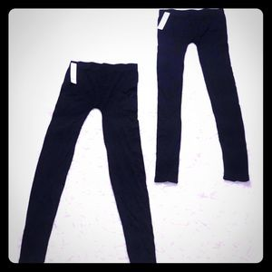 Pants - 2 pair of black leggings. Brand new with tags